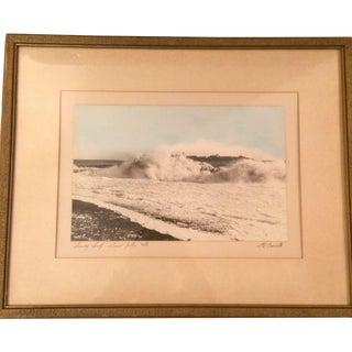 St. John, New Brunswick Crashing Wave Photograph