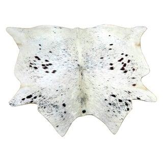 Cow Hide Rug - 4′2″ × 4′5″