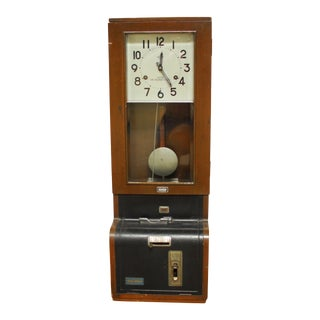 Nippon Time Recorder Punch Clock