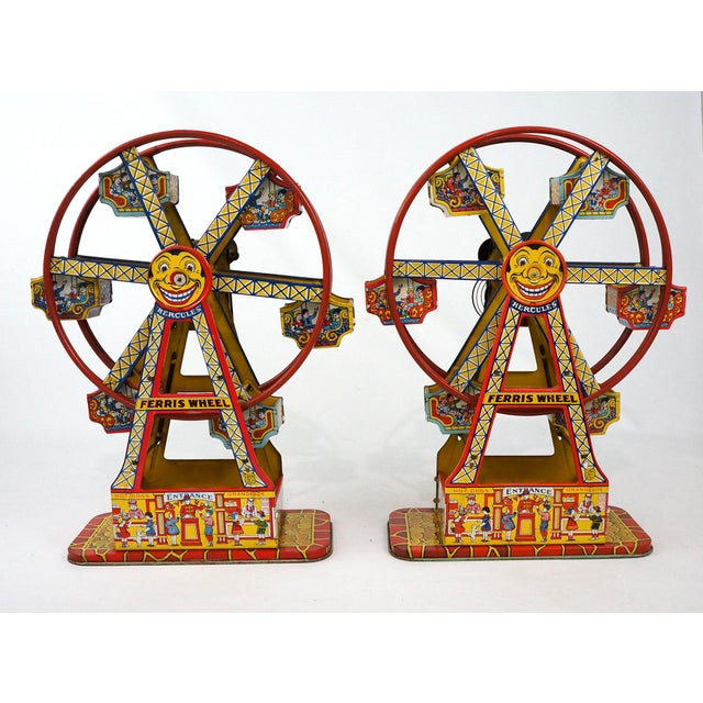 Antique Hercules Ferris Wheels - A Pair - Image 2 of 8
