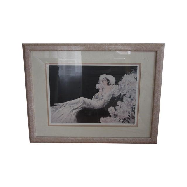 Image of Louis Icart 'Parfum De Fleurs' Print