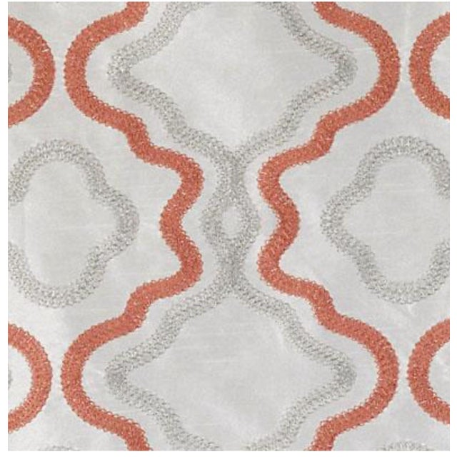 Image of Duralee Coral Fabric - 5 Yards