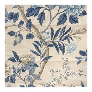 G P & J Baker Emperors Garden Blue/Cream Fabric