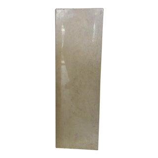Vintage Solid Travertine Pedestal