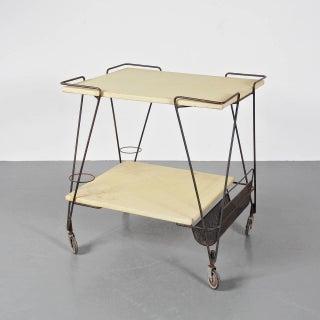 Mathieu Mategot Tea Trolley, circa 1950