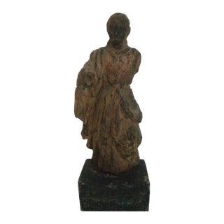 Antique 18/19th C. Wooden Santos Statue