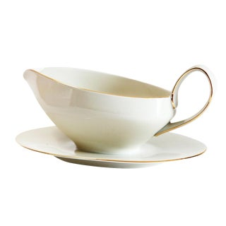 Ivory Colored Gravy Boat
