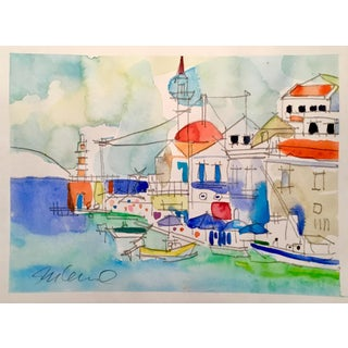 Mediterranean Monday Watercolor