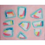 "Image of Susie Kate ""Pink Picnic"" Abstract Painting"