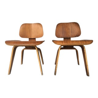 Mid-Century Eames Style Chairs - A Pair