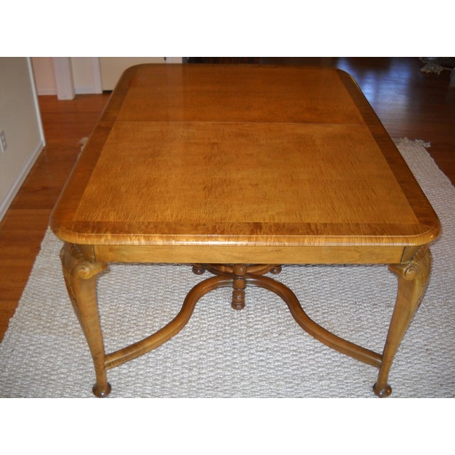 French Provincial Solid Oregon Maple Dining Set - Image 3 of 11
