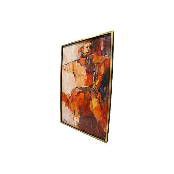 Image of Abstract Painting by Gaboda, Signed