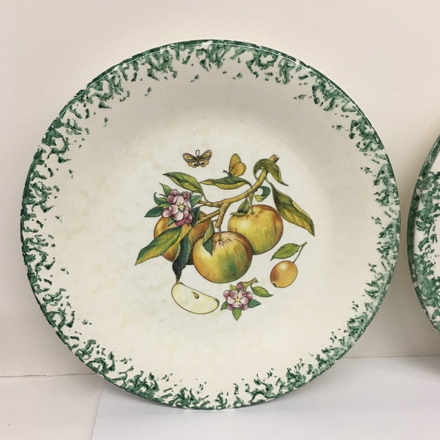 Italian Tre Ci Fruit Plates - Set of 6 - Image 11 of 11