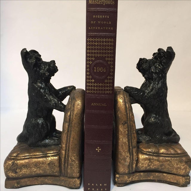 Image of Scottie Dog Bookends - A Pair