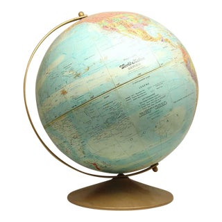 Vintage World Nation Globe