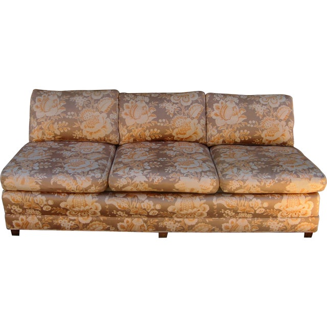 Baker Furniture Armless Sectional Sofa - 3 Pieces - Image 6 of 10