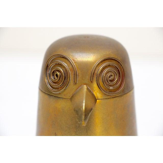 Image of Brass Owl Box