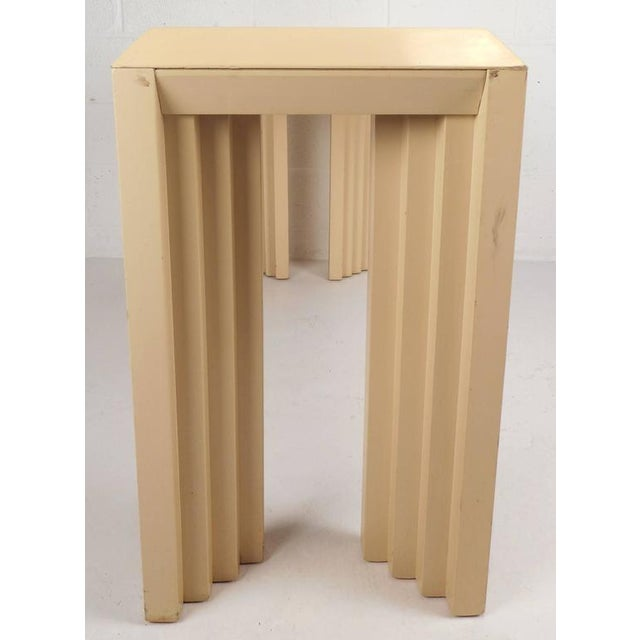 Mid-Century Modern Lacquered Console Table by Lane Furniture Company - Image 5 of 9