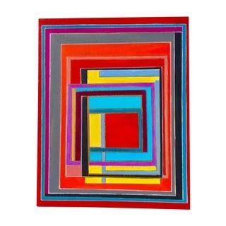 Modern Block Graphic Painting by Bryan Boomershine