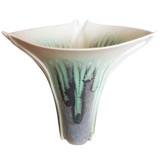 Calla Lily Mission Art Deco Style Vase