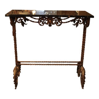Marble and Gilt-Metal Console Table