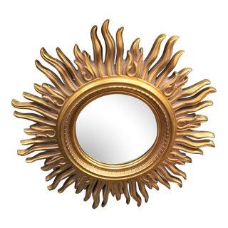 Modern Gold Starburst Mirror