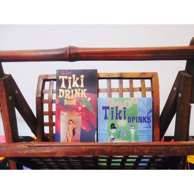 Image of Boho Tiki Folding Magazine Holder