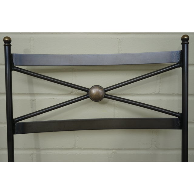 Pair of Luxury Hand Forged Counter Stools - Image 4 of 10