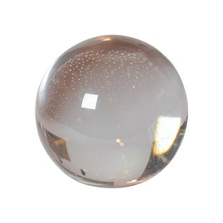 Lead Crystal Paperweight