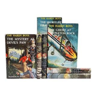 1950's Hardy Boys Bookshelf, S/7