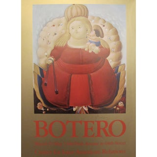1967 Hand-Signed Center for Inter-American Relations Botero Poster