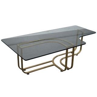 DIA Brass & Glass Coffee Table
