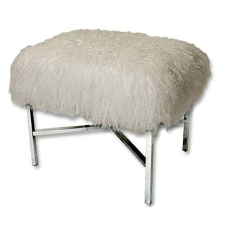 Tibetan Lamb Chrome Bench