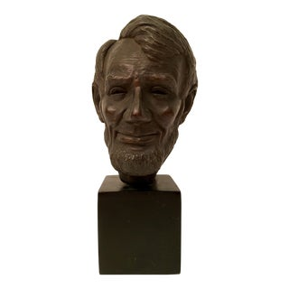 1956 Bronze Abraham Lincoln Bust