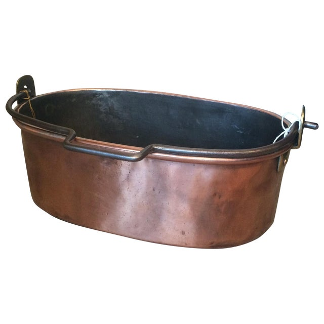 French Copper Pot - Image 1 of 3