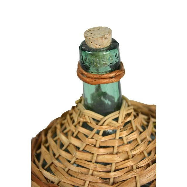 Vintage European Wicker Wine Demijohn - Image 4 of 4