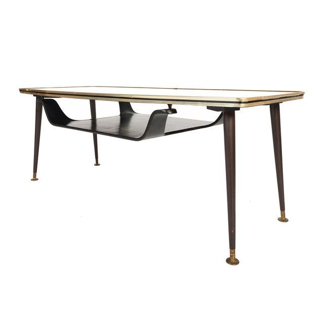Mid Century Atomic Glass Coffee Table Chairish
