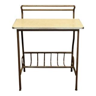 Mid-Century Metal Student's Desk