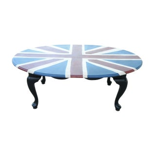 Union Jack Hand Painted Coffee Table
