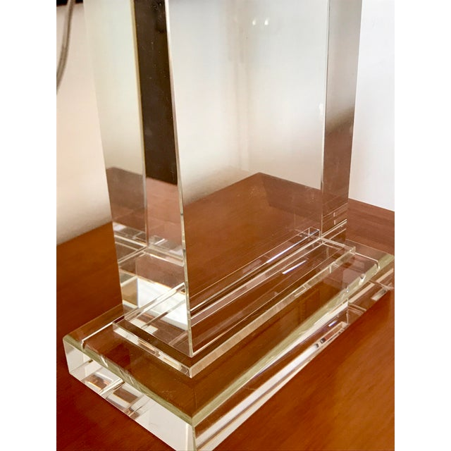 Restoration Hardware Crystal Pier Lamps - A Pair - Image 7 of 8