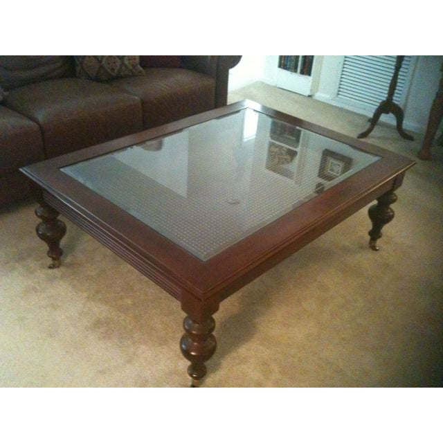 All Ethan Allen Coffee Tables: Ethan Allen British Classics Coffee Table