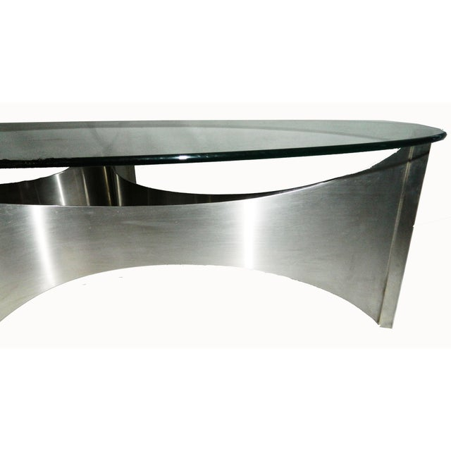 Image of Circa 1970 Maison Charles Coffee Table
