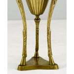 Image of Chapman Brass and Ram's Horn Floor Lamp