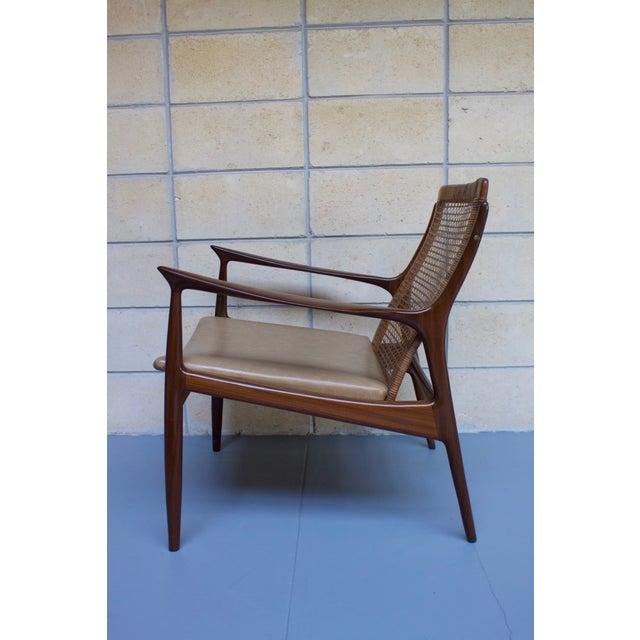 Kofod Larsen Cane Back Lounge Chair - Image 7 of 11