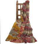 Image of Vintage Red & Pink Kantha Quilt