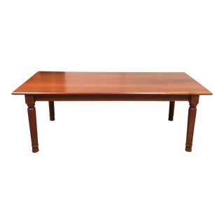 Cottage Industries Solid Cherry Dining Table