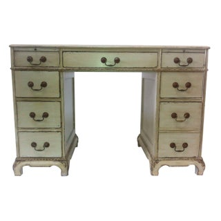 Antique White Federal Style Desk