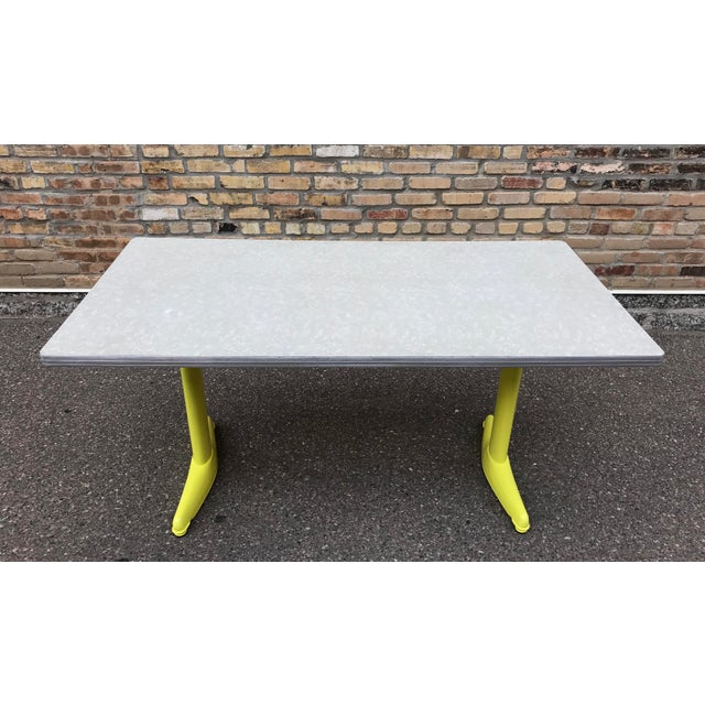 Vintage Industrial American Seating Co. Dining Table - Image 3 of 11