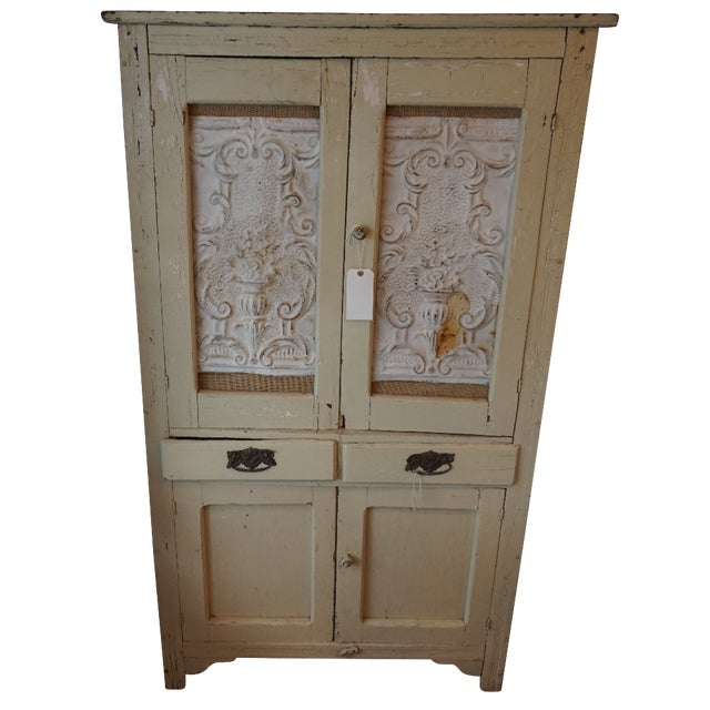 Shabby Chic Armoire - Image 1 of 4