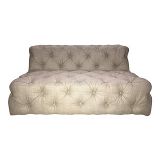Restoration Hardware Soho Tufted Loveseat Sofa